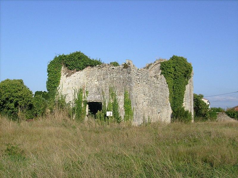 Photo du Monument Historique Eglise Notre-Dame de Monthérault situé à Trizay