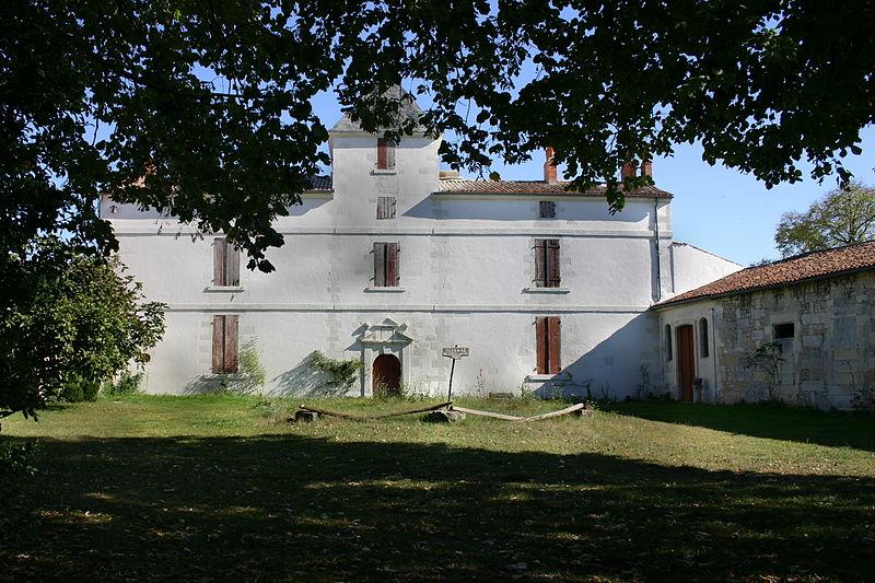Photo du Monument Historique Métairie des Pères situé à Gonds (Les)