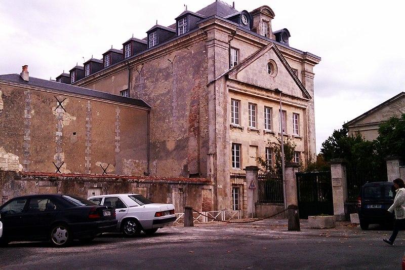 Photo du Monument Historique Hôpital Saint-Honoré situé à Saint-Martin-de-Ré