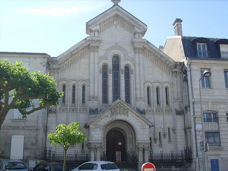 Photo du Monument Historique Temple protestant de Saintes situé à Saintes
