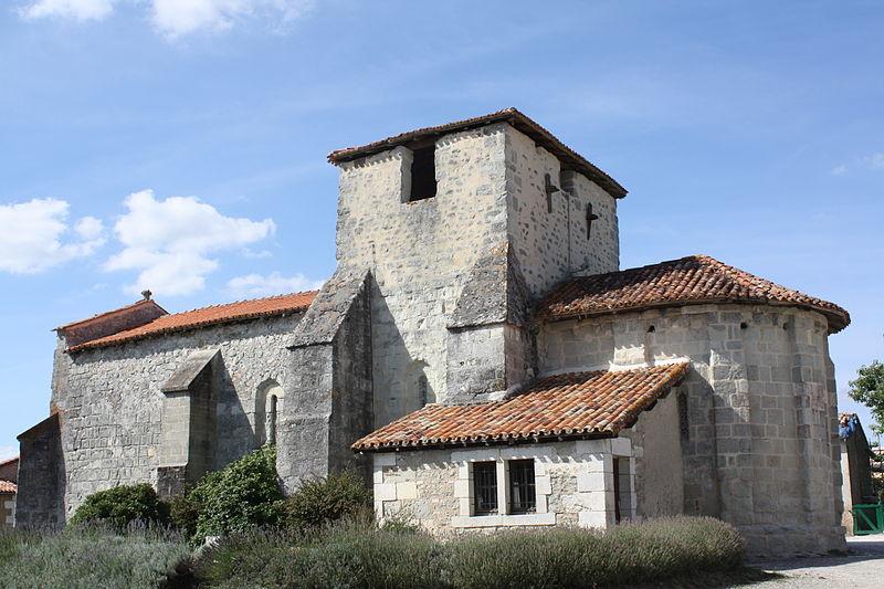 Photo du Monument Historique Eglise Saint-Antoine situé à La Genétouze