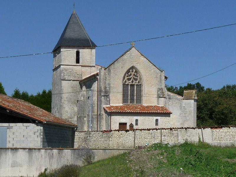 Photo du Monument Historique Eglise Saint-Martin situé à Mortiers