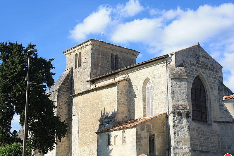 Photo du Monument Historique Eglise Saint-Pallais situé à Saint-Palais-de-Négrignac