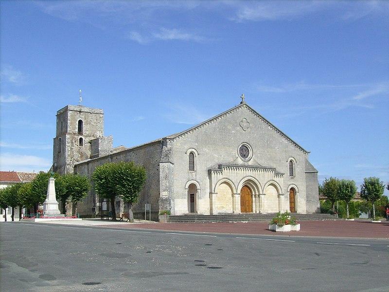 Photo du Monument Historique Eglise Saint-Thomas situé à Saint-Thomas-de-Conac