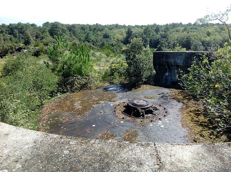 Photo du Monument Historique Batterie Muschel situé à La Tremblade