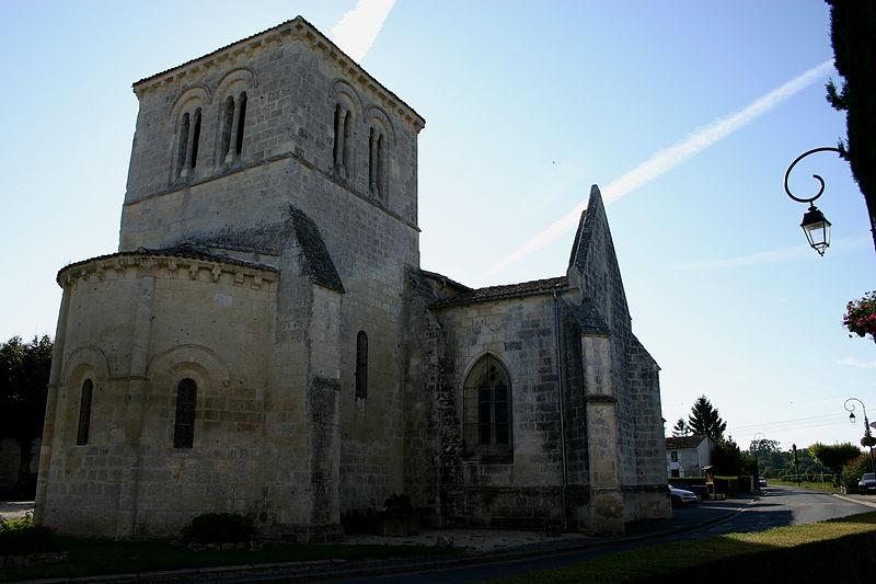 Photo du Monument Historique Eglise Saint-Martin situé à Courcoury