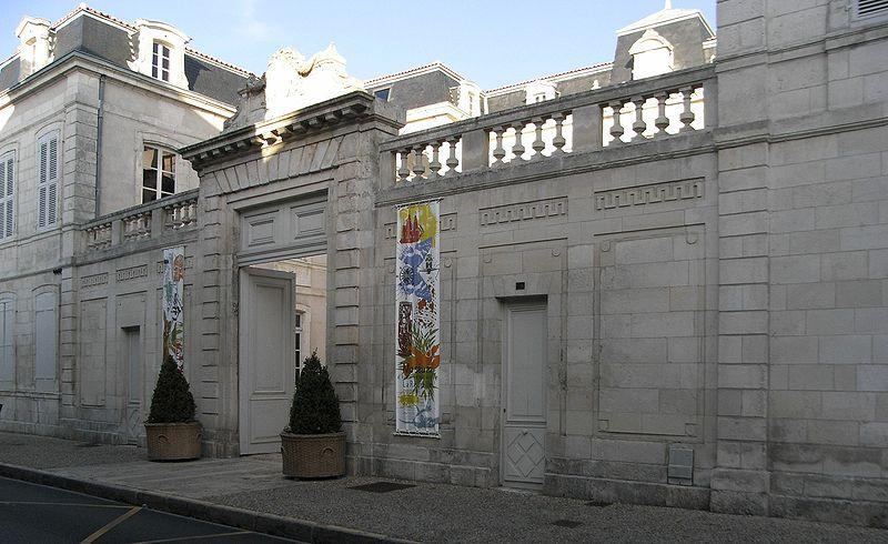 Photo du Monument Historique Muséum d'histoire naturelle situé à Rochelle (La)