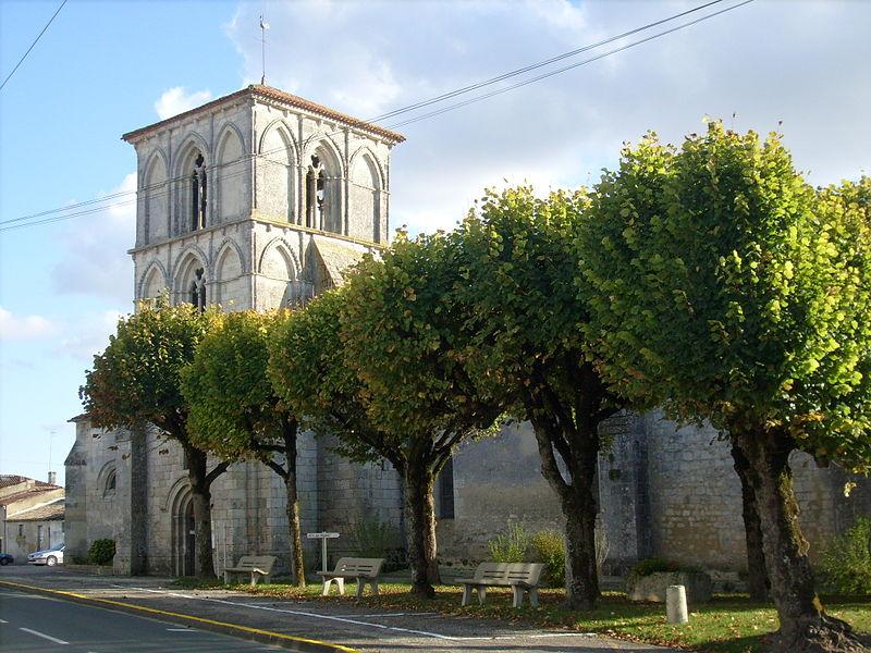 Photo du Monument Historique Eglise Saint-Cyriaque situé à Saint-Ciers-du-Taillon