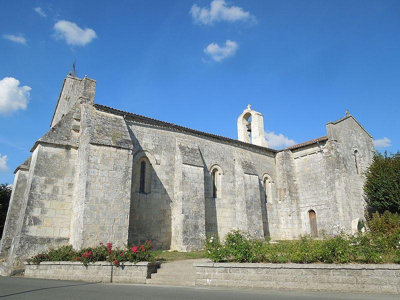 Photo du Monument Historique Eglise Saint-Christophe situé à Villexavier