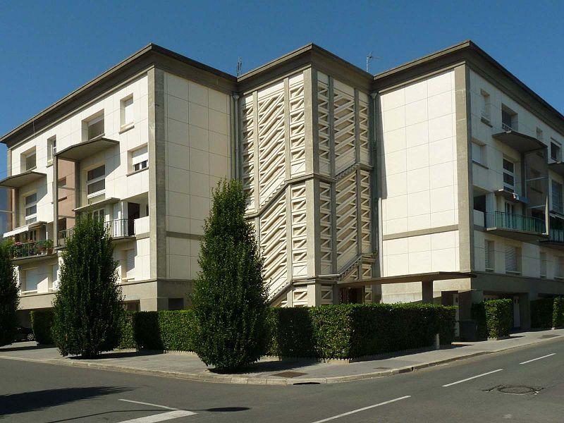 Photo du Monument Historique Résidence Foncillon situé à Royan