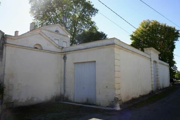 Photo du Monument Historique Logis situé au lieudit l'Hôpiteau situé à Bords