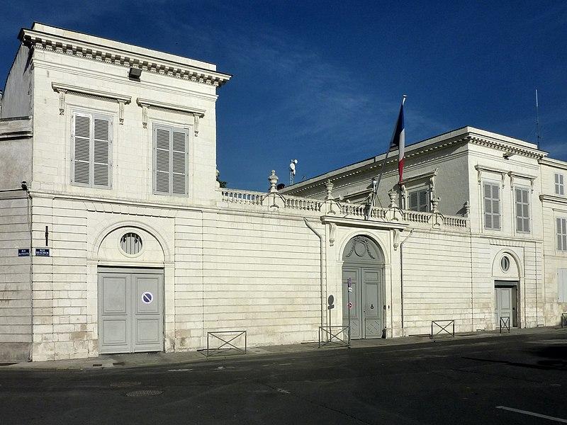 Photo du Monument Historique Préfecture de La Rochelle situé à Rochelle (La)