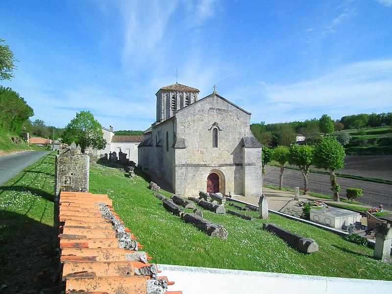Photo du Monument Historique Eglise Saint-Etienne situé à Floirac