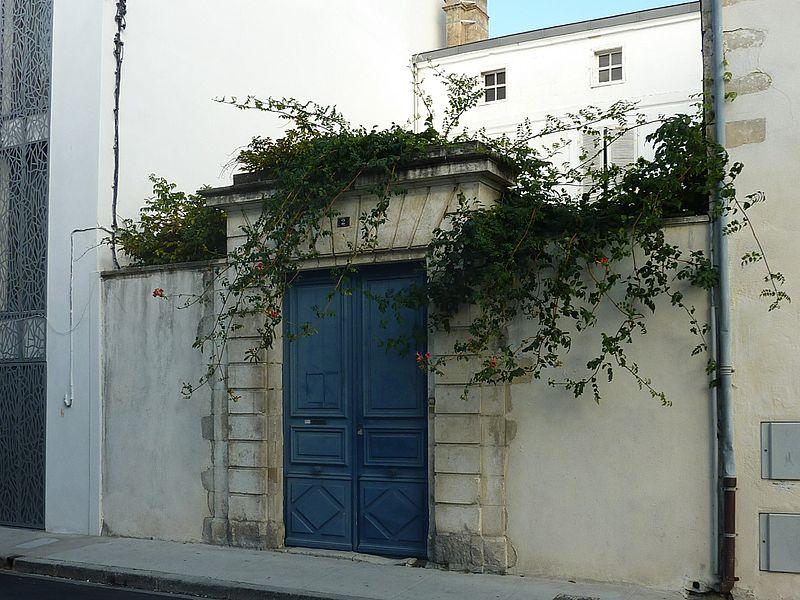 Photo du Monument Historique Hôtel Lambertz situé à La Rochelle