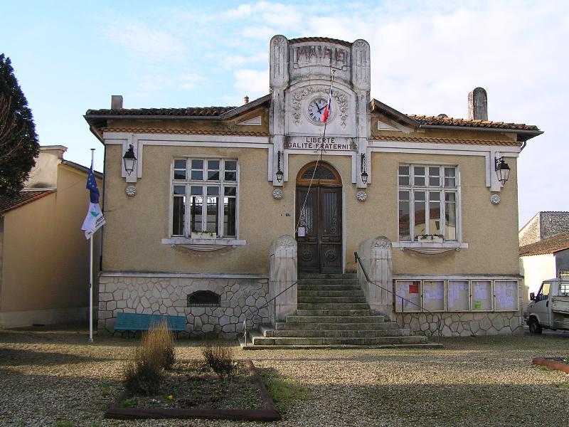 Photo du Monument Historique Mairie situé à Beauvais-sur-Matha