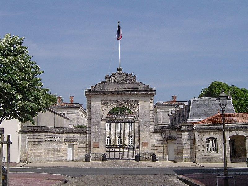 Photo du Monument Historique Hôtel de la Marine situé à Rochefort