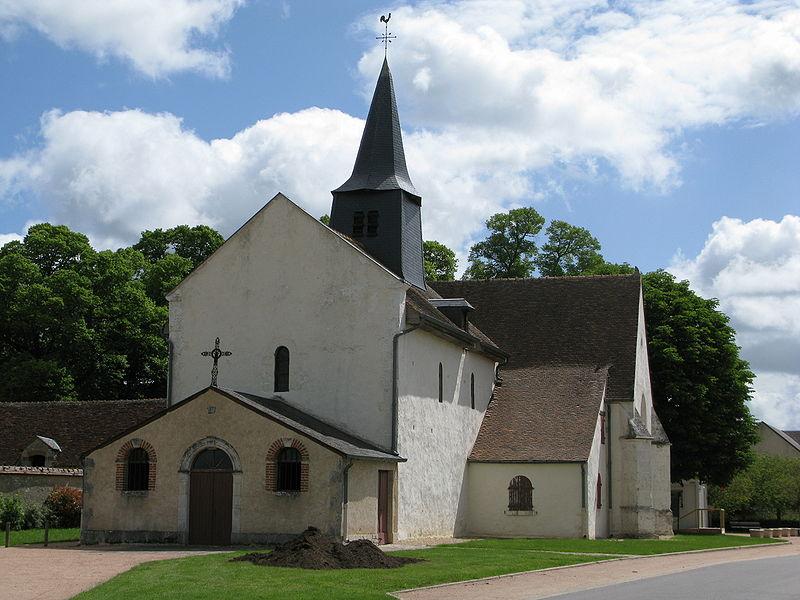Photo du Monument Historique Eglise Saint-Germain situé à Allouis