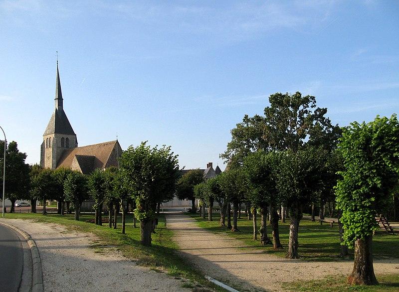 Photo du Monument Historique Eglise Saint-André situé à Argent-sur-Sauldre