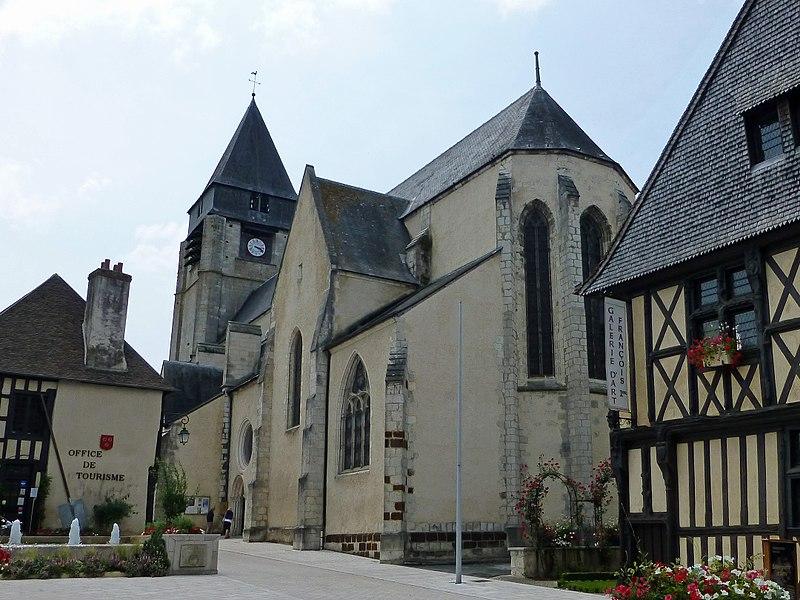 Photo du Monument Historique Eglise Saint-Martin situé à Aubigny-sur-Nère