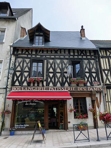 Photo du Monument Historique Maison, dite des Dames situé à Aubigny-sur-Nère