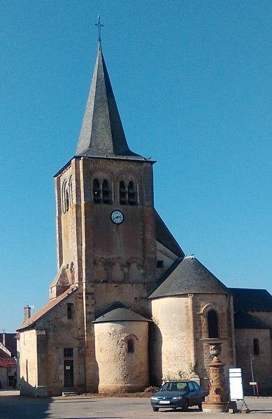 Photo du Monument Historique Eglise Saint-Ludre situé à Augy-sur-Aubois