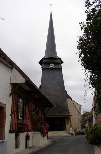 Photo du Monument Historique Eglise Saint-André situé à Blancafort