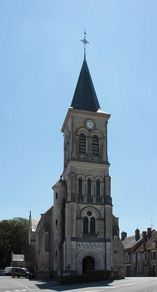 Photo du Monument Historique Eglise Saint-Germain situé à Blet