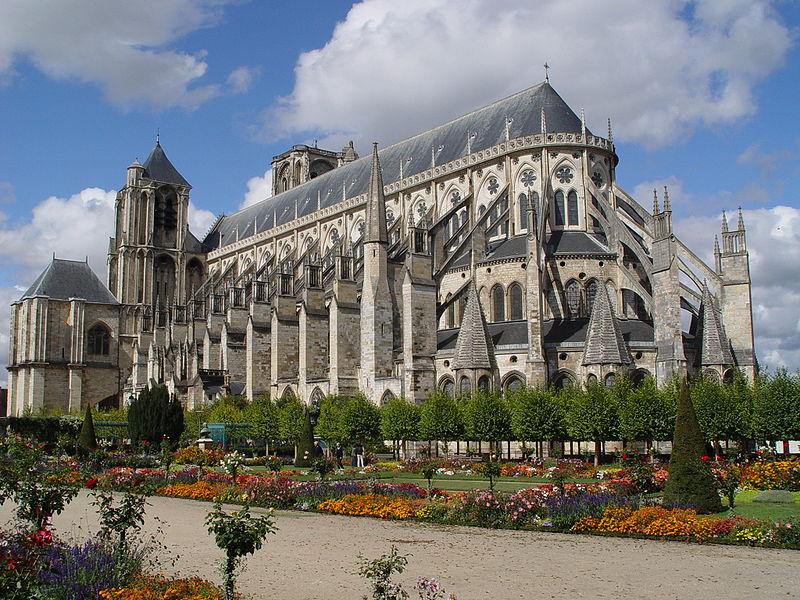 Photo du Monument Historique Cathédrale Saint-Etienne situé à Bourges