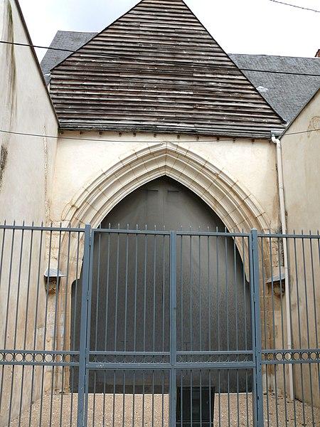 Photo du Monument Historique Ancienne église Saint-Aoustrillet situé à Bourges