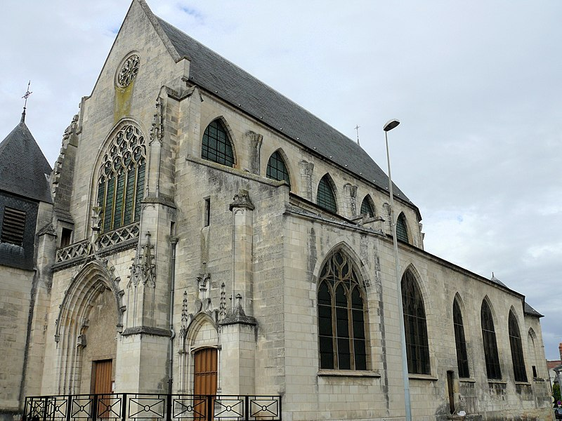 Photo du Monument Historique Eglise Saint-Bonnet situé à Bourges