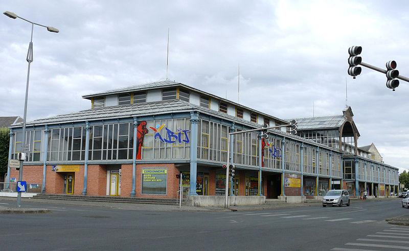 Photo du Monument Historique Halles Saint-Bonnet situé à Bourges