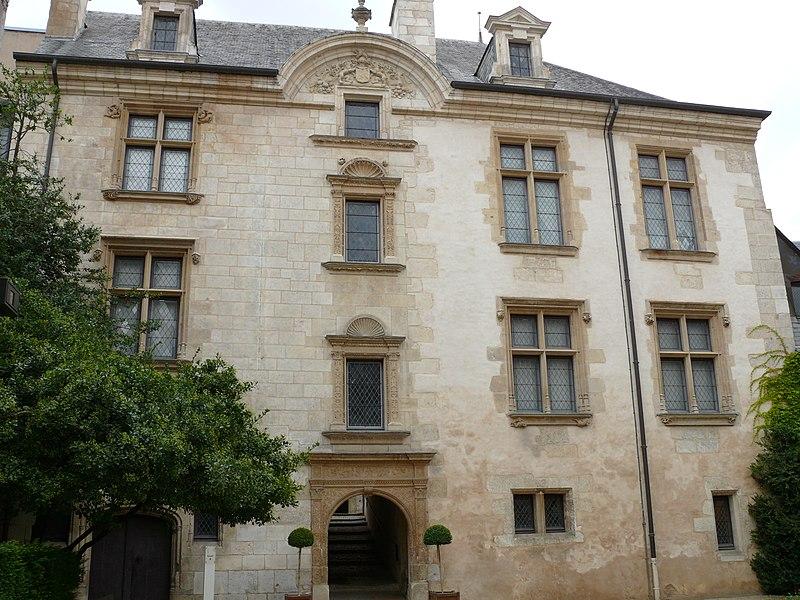 Photo du Monument Historique Hôtel Lallemant situé à Bourges
