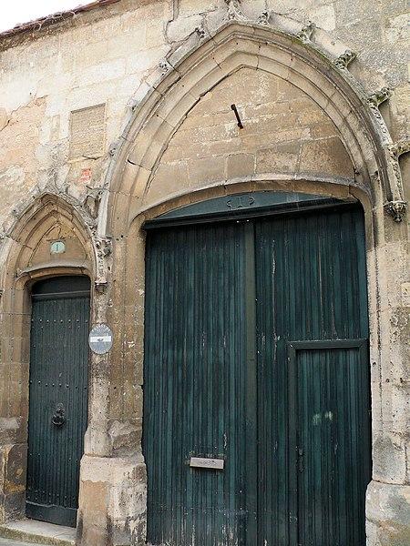 Photo du Monument Historique Ancien hôtel des Trésoriers de la Sainte-Chapelle situé à Bourges