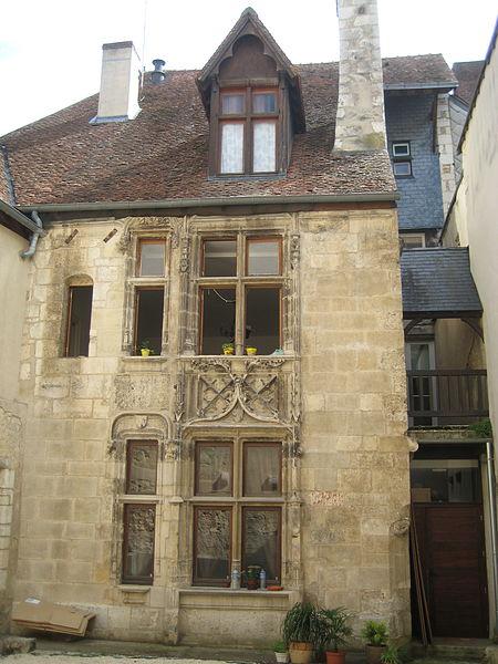 Photo du Monument Historique Maison de Bienaimé Georges situé à Bourges