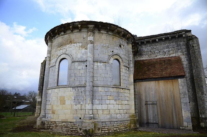 Photo du Monument Historique Eglise du prieuré Saint-Etienne d'Allichamps situé à Bruère-Allichamps