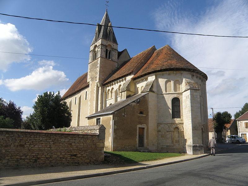 Photo du Monument Historique Eglise Saint-Martin situé à Chalivoy-Milon