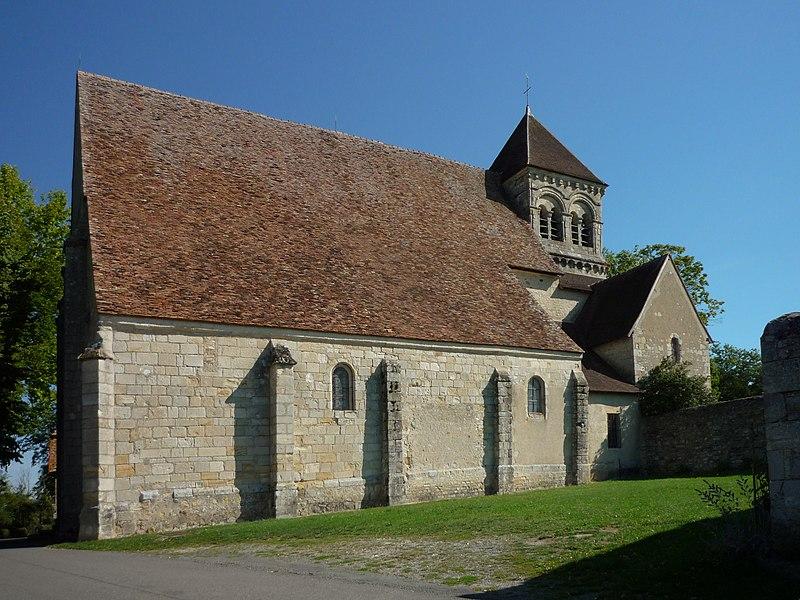 Photo du Monument Historique Eglise de Puy-Ferrand situé à Châtelet (Le)