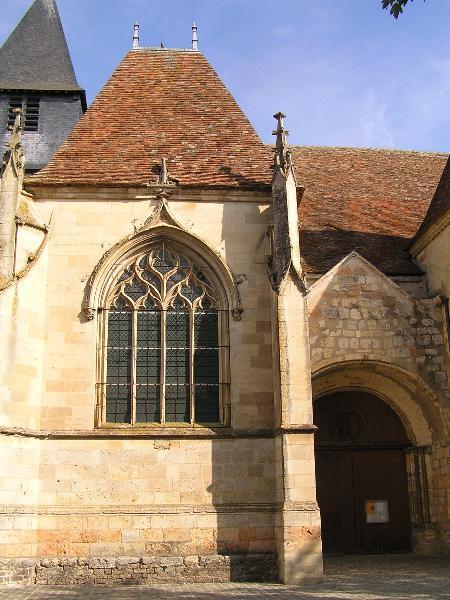 Photo du Monument Historique Eglise Saint-Etienne (collégiale) situé à Dun-sur-Auron