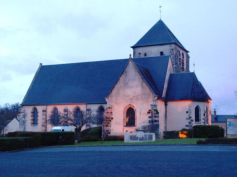 Photo du Monument Historique Eglise Saint-Martin situé à Ennordres