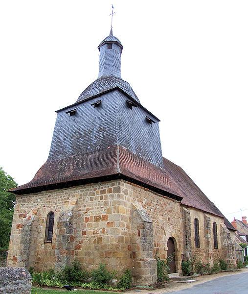 Photo du Monument Historique Eglise communale Saint-Martin situé à Epineuil-le-Fleuriel