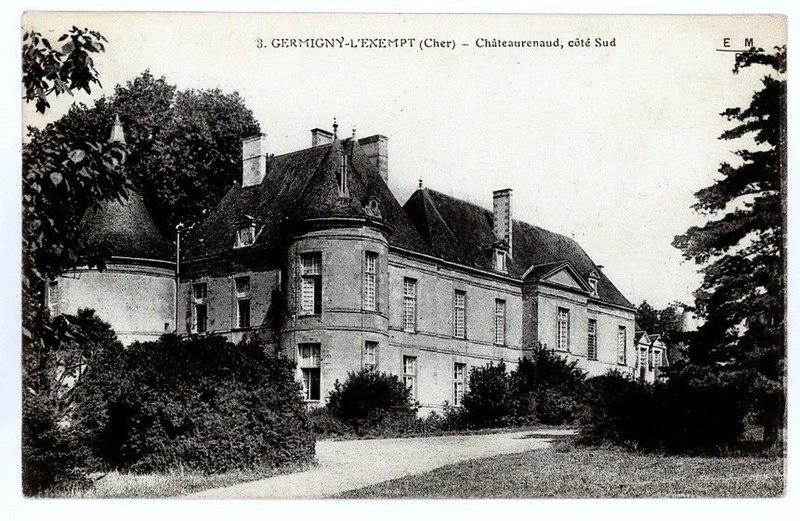 Photo du Monument Historique Château-Renaud situé à Germigny-l'Exempt