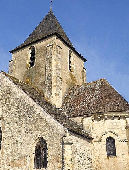 Photo du Monument Historique Eglise Saint-Etienne situé à Guerche-sur-l'Aubois (La)
