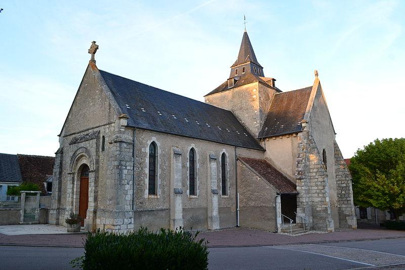 Photo du Monument Historique Eglise Saint-Martin-et-Saint-Roch situé à Ids-Saint-Roch
