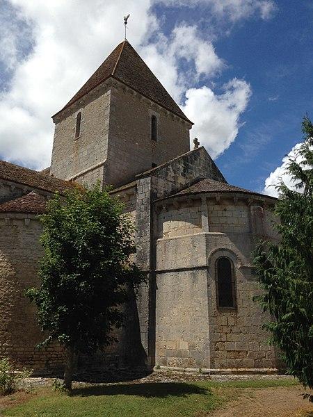 Photo du Monument Historique Eglise Saint-Martin situé à Ineuil