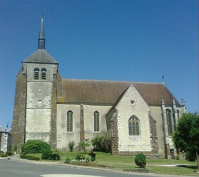 Photo du Monument Historique Eglise Saint-Aignan situé à Jars