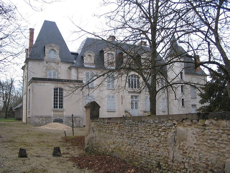 Photo du Monument Historique Château de la Ferté situé à Lazenay