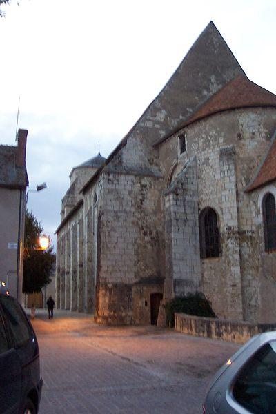 Photo du Monument Historique Eglise collégiale Saint-Martin situé à Léré