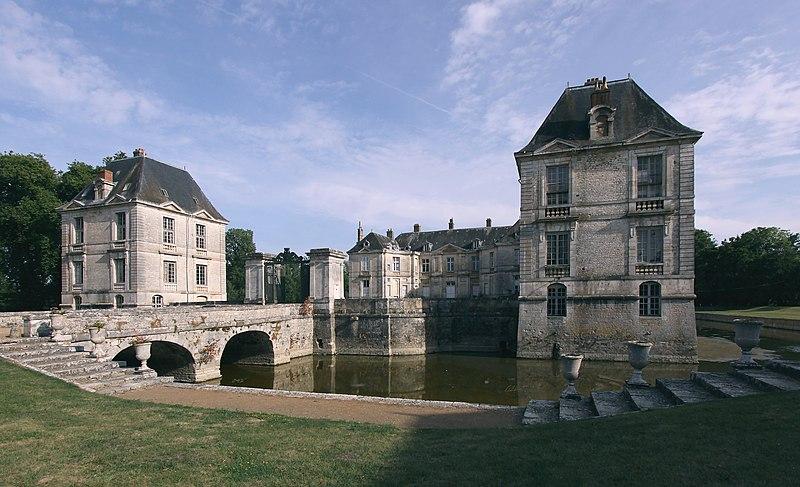 Photo du Monument Historique Château situé à Lignières
