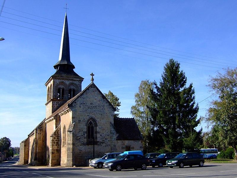 Photo du Monument Historique Eglise Saint-Martin situé à Loye-sur-Arnon