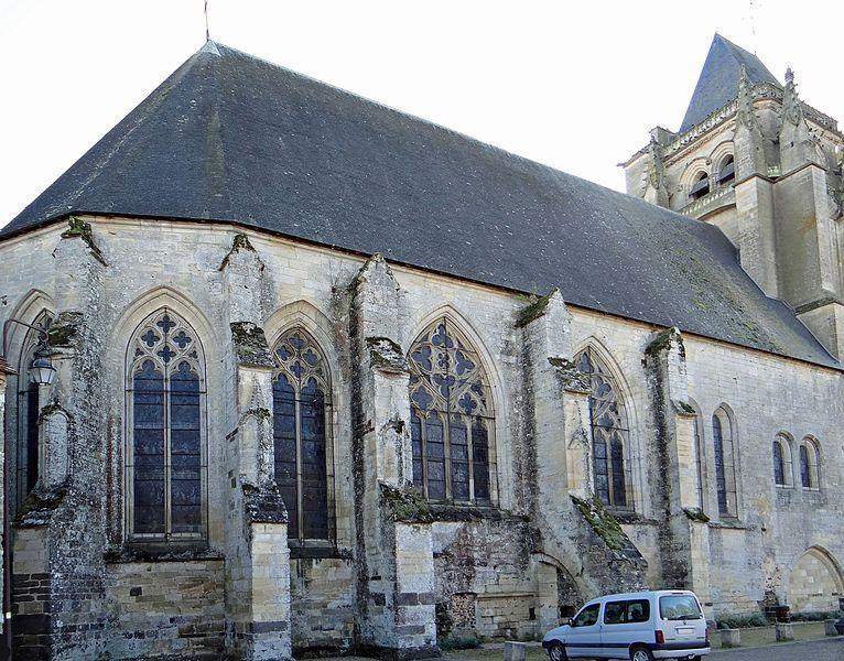 Photo du Monument Historique Eglise Saint-Paxent situé à Massay